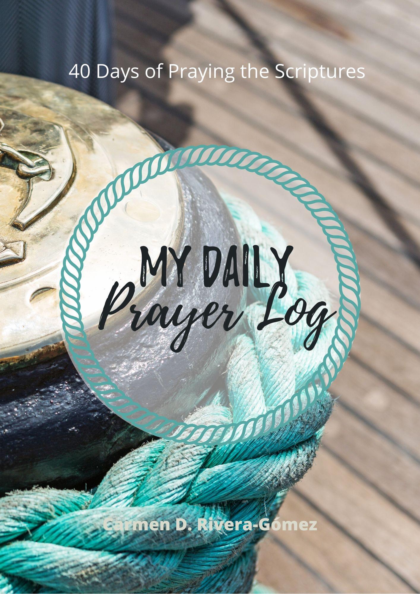prayer log journal