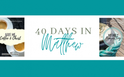 Bible Reading: Gospel of Matthew in 40 Days